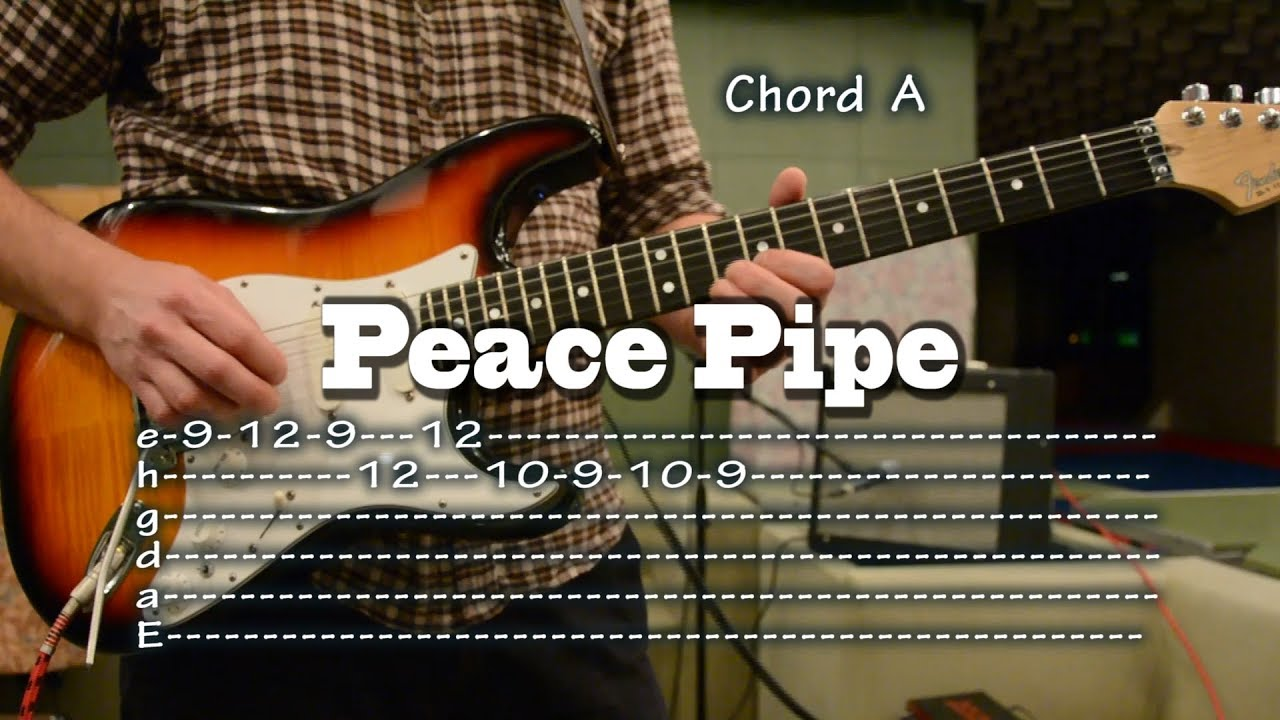 Peace Pipe Guitar Tab And Chords Como Tocar Lesson