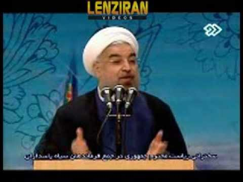 Video of full speech of Hassan Rohani for Revolutionary Guard commanders