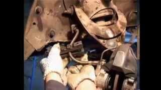 видео Как заменить тормозной шланг не поломав тормозную трубку