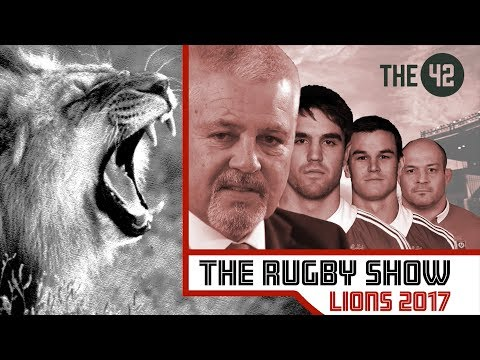 The Rugby Show: Recap of the Lions 2017 with Eddie O'Sullivan