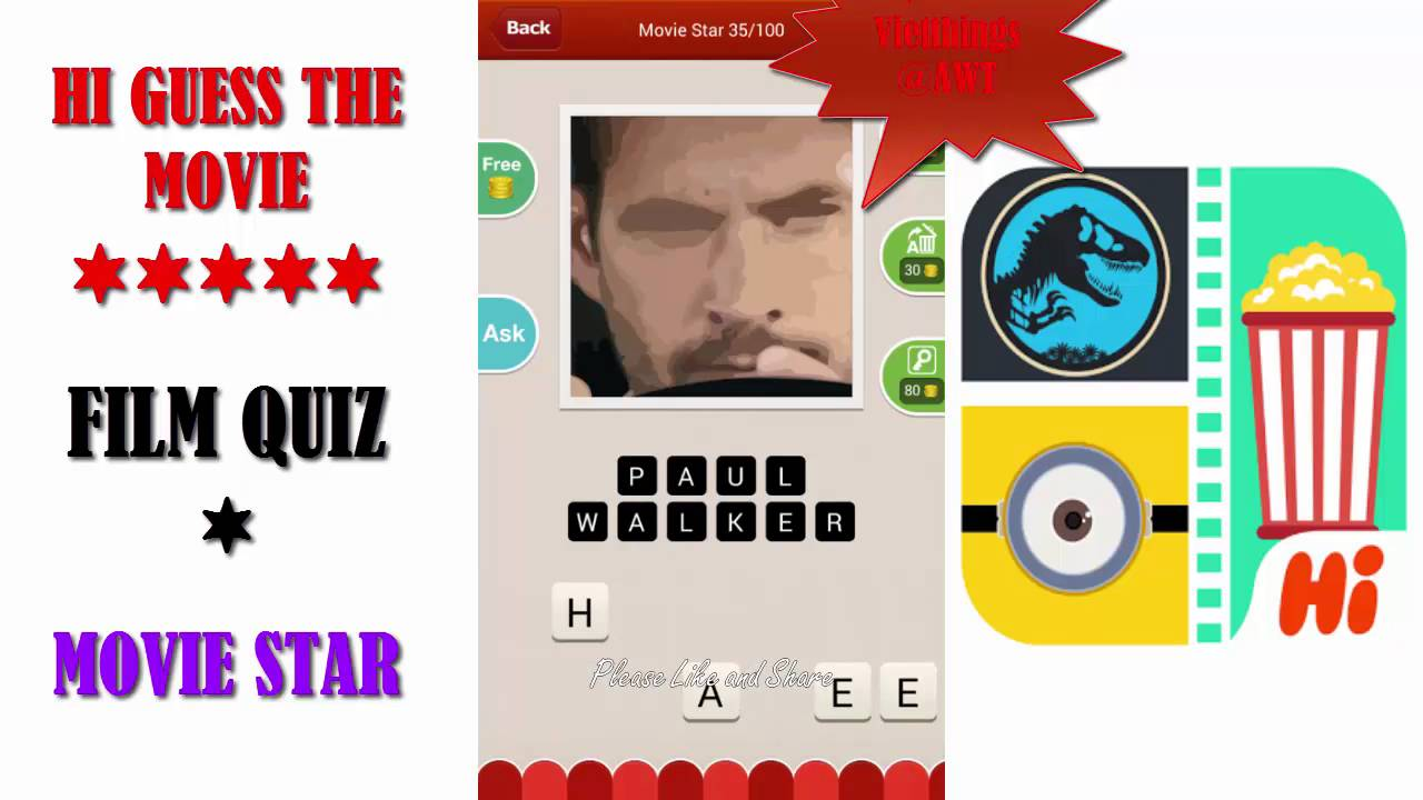 100 Pics Quiz Answers - Game Solver