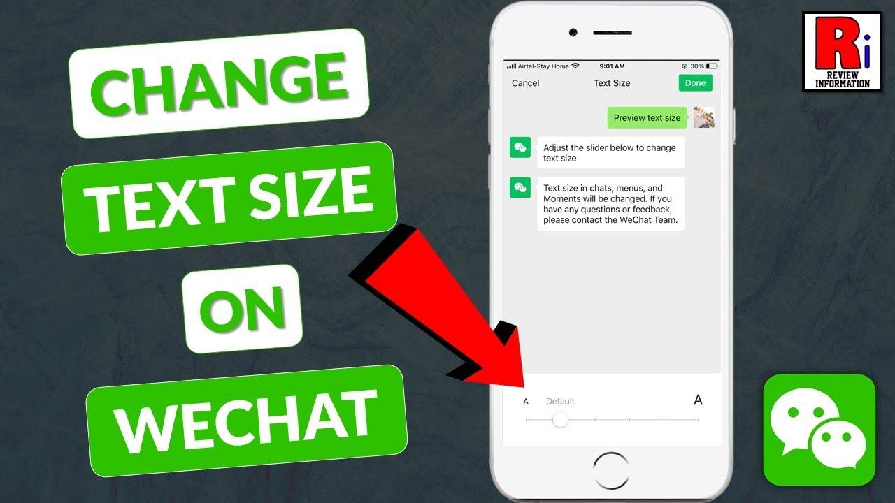 Text wechat bold WeChat Sans