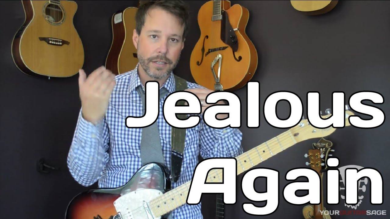Jealous Again The Black Crowes Guitar Lesson Standard Tuning