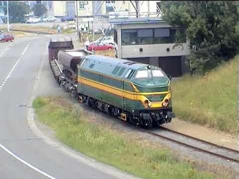 PFT TSP Antwerp docks June 2005 Voyage 104 SNCB 59 51 5941 5166