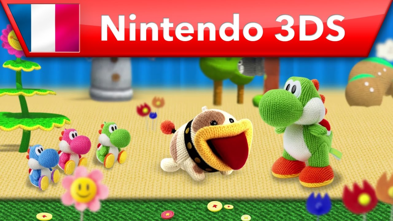 [3DS] Bande-annonce des nouveautés de Poochy & Yoshi's Woolly World