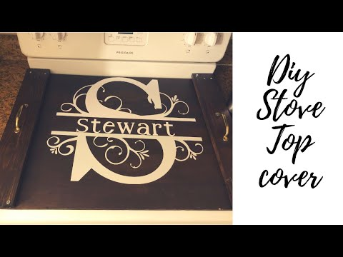 DIY Stove top cover