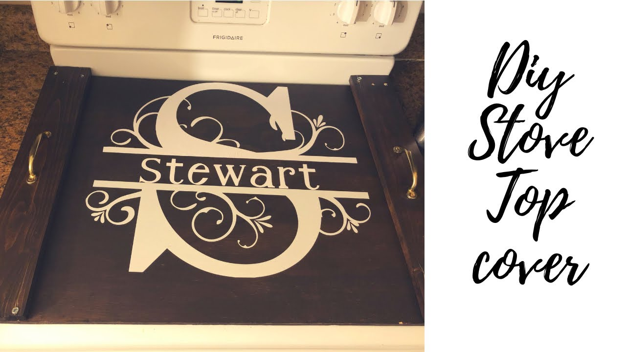 Diy Stove Top Cover Youtube