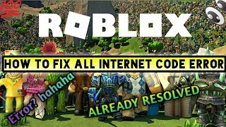 HOW TO FIX ALL ROBLOX ERRORS ✔✔✔