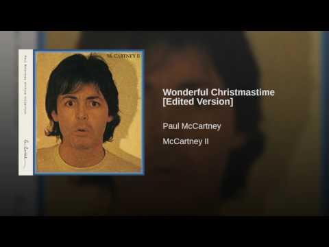 Wonderful Christmastime Edited Version