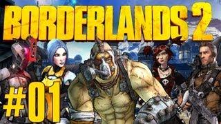"Borderlands 2 - Part 1 - ""The Beginning/Player Creation"""