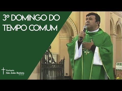 Santa Missa do 3º Domingo do Tempo Comum | Pe. Antônio Maciel Mota | 25/01/2020