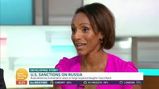 U.S Sanctions on Russia | Good Morning Britain thumbnail