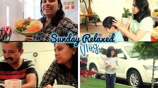 Relaxed Sunday with Indian Chinese Veg Lunch Routine - Indian Mom Vlogger