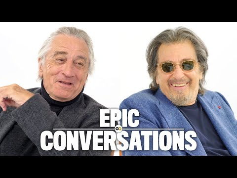 Robert De Niro and Al Pacino Have an Epic Conversation | GQ