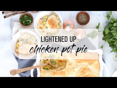 Lightened-Up Chicken Pot Pie