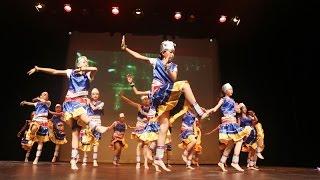 英才学院十周年校庆大型文艺晚会:苗族舞蹈《太阳鼓》