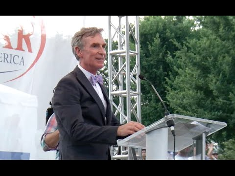 Bill Nye - Reason Rally 2016 - YouTube