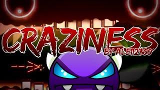 (Epic) Craziness by Alex112300 (Easy Demon) Geometry Dash[2.11]