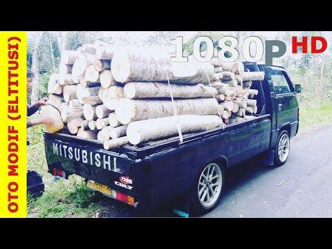 Modifikasi Mobil Pick Up L300 Modif Simpel Hitam Elegan Bos Kayu Magelang ~ Owner @nur__rachman