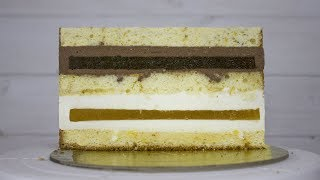 Рецепт торта пошагово. Как собрать торт, рецепт бисквита и начинки для торта. Видеорецепт