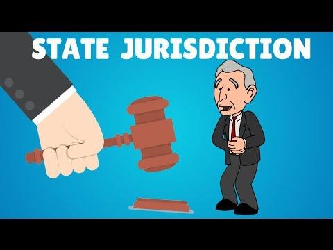 Jurisdiction of States explained