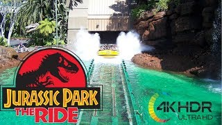 Jurassic Park Ride! Complete Ride at Universal Studios Hollywood