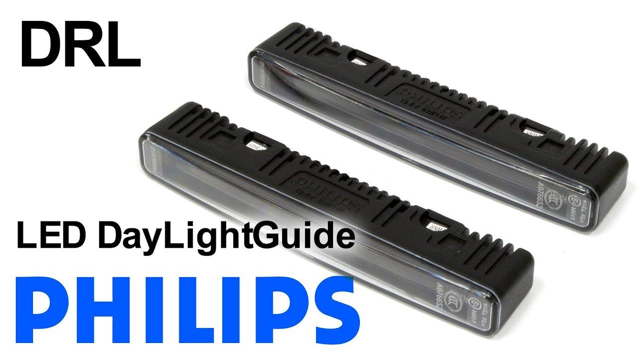 Cyclon DRL-710 — фары дневного света, светодиодные пластины - YouTube