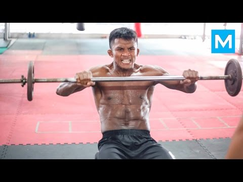 Buakaw Banchamek Muay Thai Training | Muscle Madness