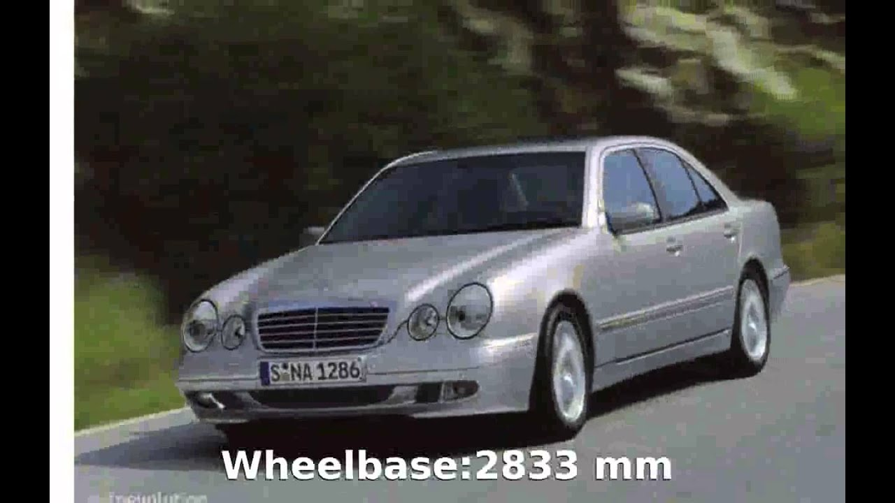 2000 mercedes benz e 240 w 210 info youtube. Black Bedroom Furniture Sets. Home Design Ideas