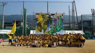 2015年 愛媛県立三島高校運動会 午後の部