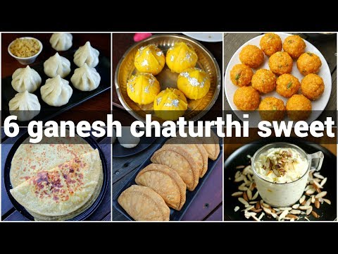 6 ganesh chaturthi bhog recipes | ganpathi festival sweet recipes | गणपती विशेष पदार्थ