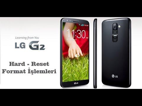 LG G2 Modeline Hard Reset – Format Atma – Fabrika Verilerine Sıfırlama