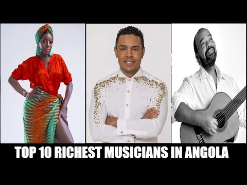 Top 10 Richest Musicians in Angola🇦🇴