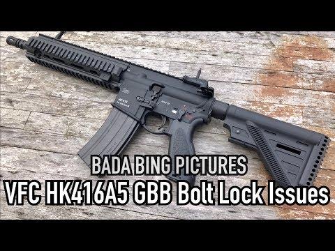 VFC HK416A5 GBB Bolt Lock Failure And Solutions