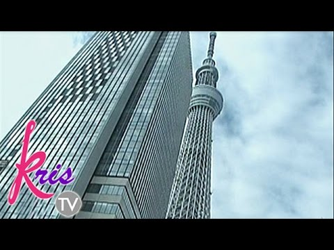 Tokyo Sky Tree Tower, the tallest building in Japan