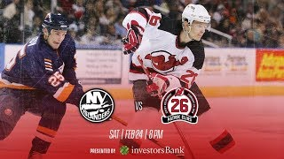 NHL 18 PS4. REGULAR SEASON 2017-2018: New York ISLANDERS VS New Jersey DEVILS. 02.24.2018. (NBCSN) !
