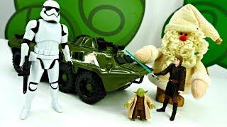 Звездные войны: Дед Мороз дарит подарки Штурмовикам