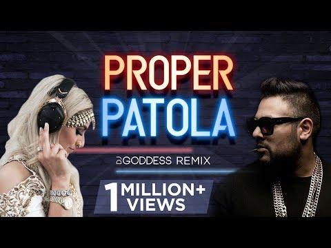 Proper Patola | Badshah, Diljit Dosanjh | DJ Goddess Remix