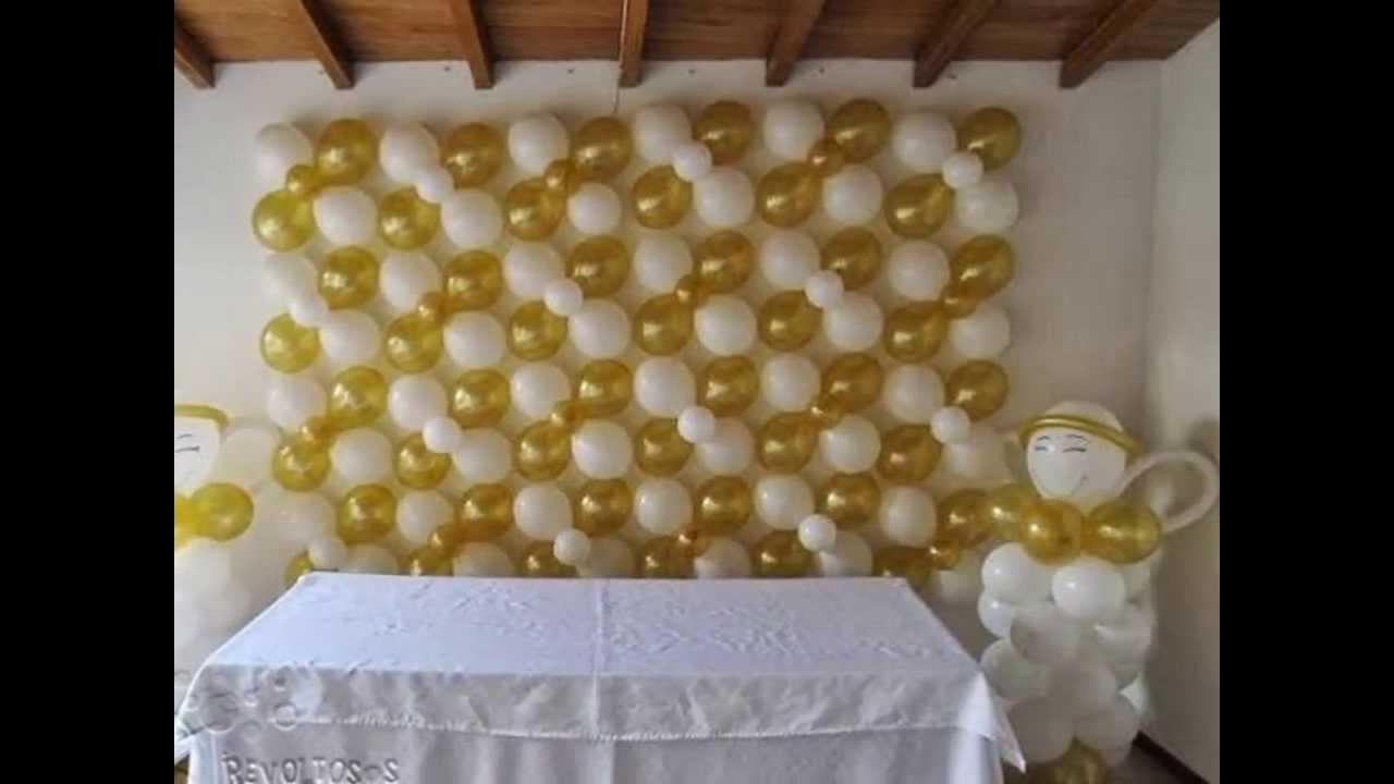 decoracion primera comunion con angeles