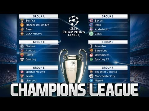 MY UEFA CHAMPIONS LEAGUE GROUP STAGE PREDICTIONS 2017/18! Group Stage Draw