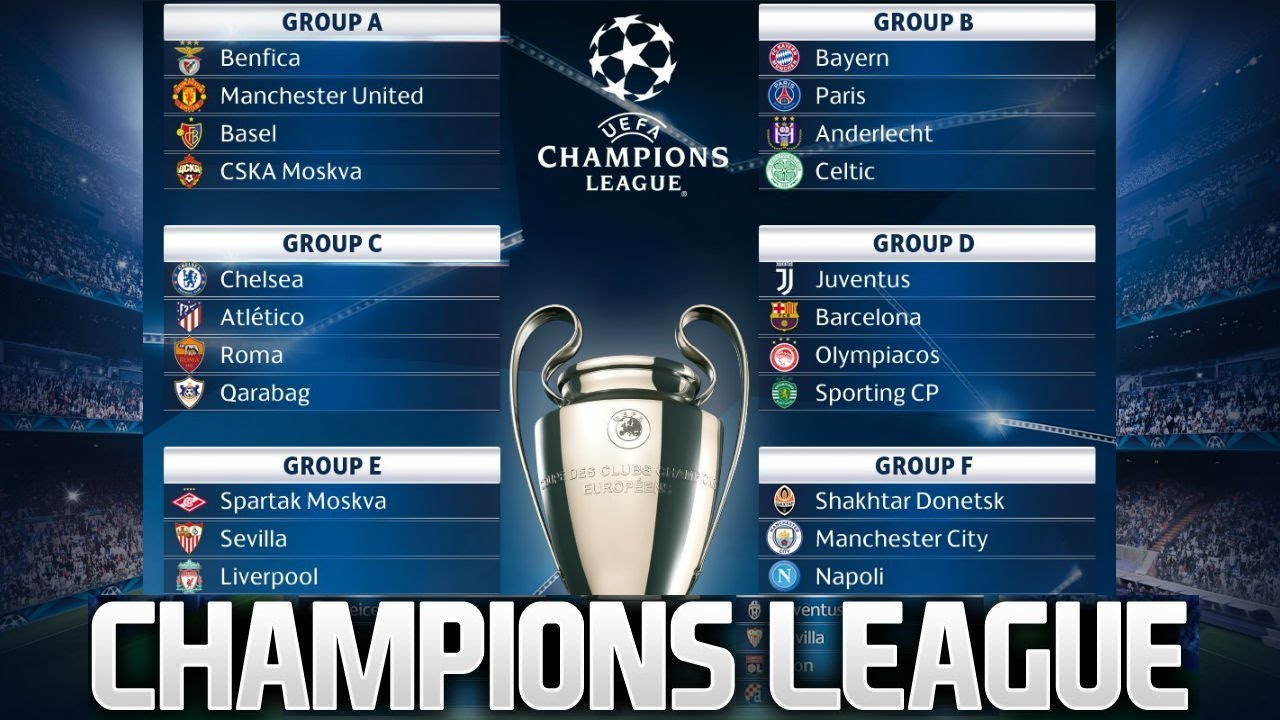 Image result for Uefa Champions League Draws