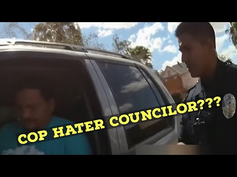 Cop Hating City Official Gets Pulled Over Acts Foolish on Camera