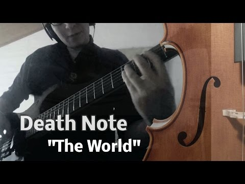 "Death Note OP 1 / Opening FULL - ""The World"" 