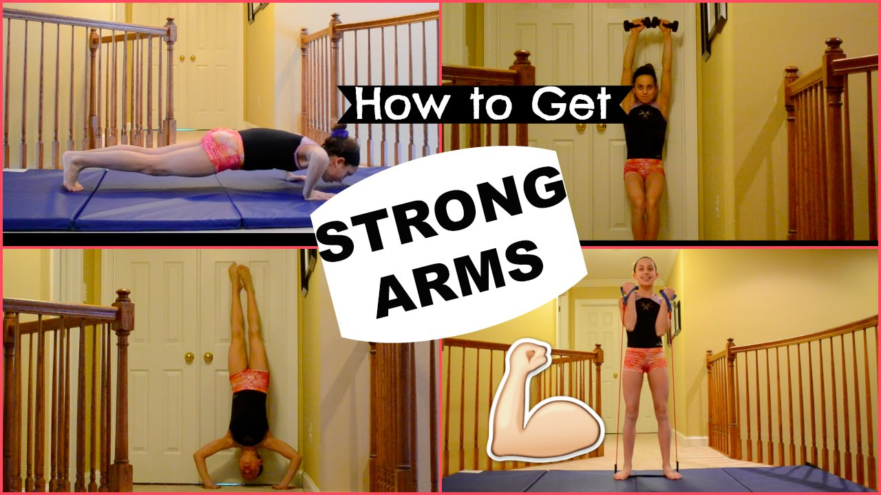 How to get STRONG ARMS! - YouTube