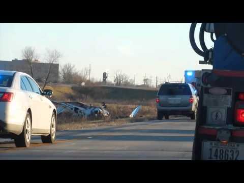 Крушение самолета в Омаха. Plane crash in Council Bluffs led Omaha