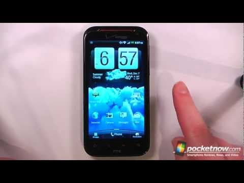 HTC Rezound Software Review