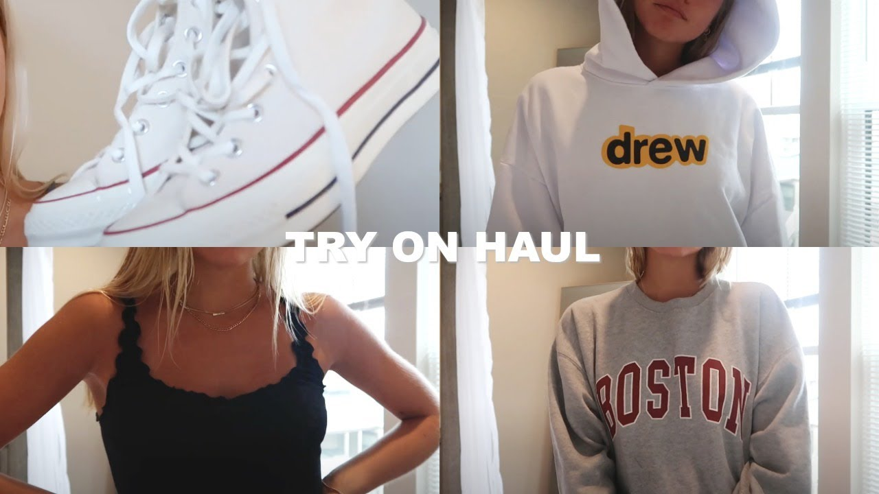 END OF SUMMER TRY ON HAUL | Drew House, Urban Outfitters & more