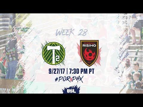 USL LIVE - Portland Timbers 2 vs Phoenix Rising FC 9/27/17