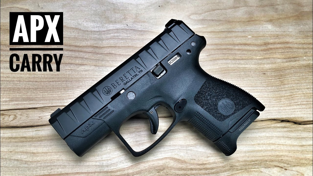 Beretta APX Carry - Not What I Was Expecting