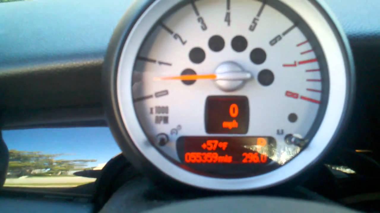 2007 Mini Cooper S R56 Cold Start problem(stumble) 2